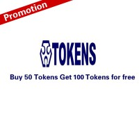 (Promotion)Buy 50 Tokens to Get Extra Free 100 Tokens for M8 Pro(Total 150 Tokens) Recharge Online