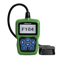 OBDSTAR F104 IMMO Reset Tool and Mileage Correction for Chrysler Jeep Dodge Till The Year 2016