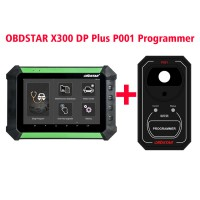 OBDSTAR X300 DP Key Programmer Full Configuration Plus OBDSTAR P001 Programmer for VW 4th & 5th IMMO/Renew Key