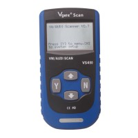 Vgate VS450 VAG CAN OBDII Scan Tool V2.7 for ABS Airbag Oil Service Light Reset