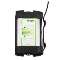 (July Promotion)(UK Ship No Tax)Vocom 88890300 Interface for Volvo Renault UD Mack Truck Diagnose Win7 with Square Adapter