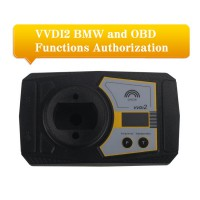 VVDI2 BMW Key Programmer and OBD Functions Authorization Service
