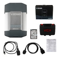 WIFI Version VXDIAG MULTI Diagnostic Tool for Porsche Piws2 Tester II V18.1 & LAND ROVER JLR V158.06 Software With HDD