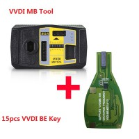Original Xhorse VVDI MB BGA Tool Plus 15pcs VVDI BE Key Pro Improved Version