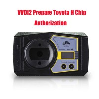 Xhorse VVDI2 Prepare Toyota H Chip Activation Authorization