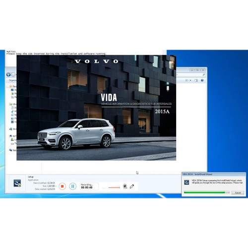 2019 Latest Update Volvo Vida Dice 2015A Software with USB Key Support Volvo Till Year 2017 No Need Activation