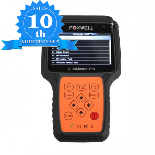 (10th Anni Sales)(UK Ship No Tax)Foxwell NT624 BMW All Systems Scanner Update Online Lifetime for Free