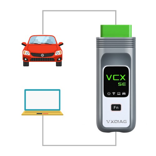 VXDIAG VCX SE for BMW with 500GB HDD ISTA-D 4.17.13 ISTA-P 3.66.1.002 WIFI OBD2 Diagnostic Tool Supports ECU Programming Online Coding
