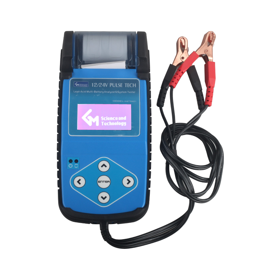 Auto Battery Tester Product : Abt a automotive battery tester with printer