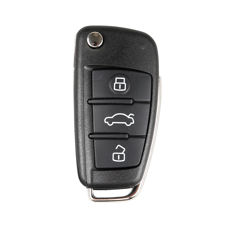 Audi A6L Q7 Intelligent Folding Remote Control Key For VVDI2 Mini Remote Programmer 10pcs/lot