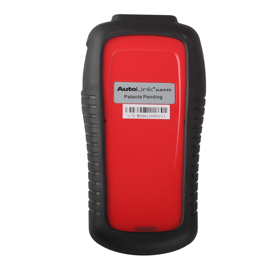 (Free Shipping from UK No Tax)AutoLink AL619 ABS SRS OBDII Diagnostic Tool with Multi-language Update Online