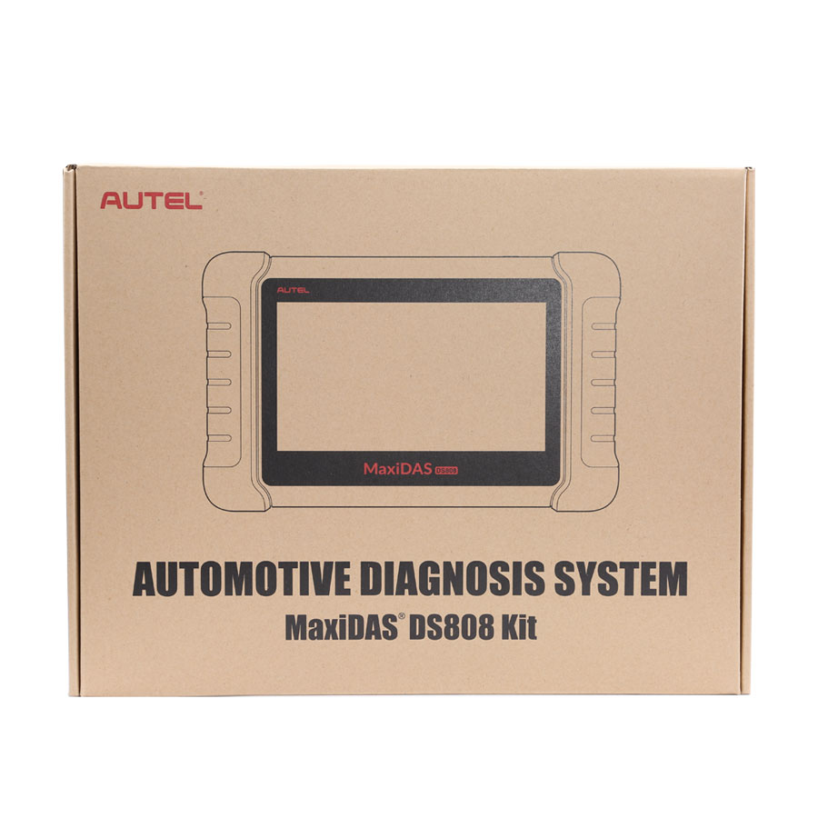 (UK Shipping No Tax)Autel MaxiDAS DS808 Tablet Diagnostic Tool Full Set Support Injector&Key Coding Update Version of DS708 Perfect as MaxiSYS MS906