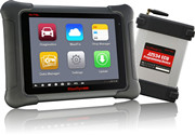 [English+Spanish]Autel MaxiSys Elite WiFi/Bluetooth Tablet Diagnostic Tool with J2534 ECU Preprogramming Box Update Online