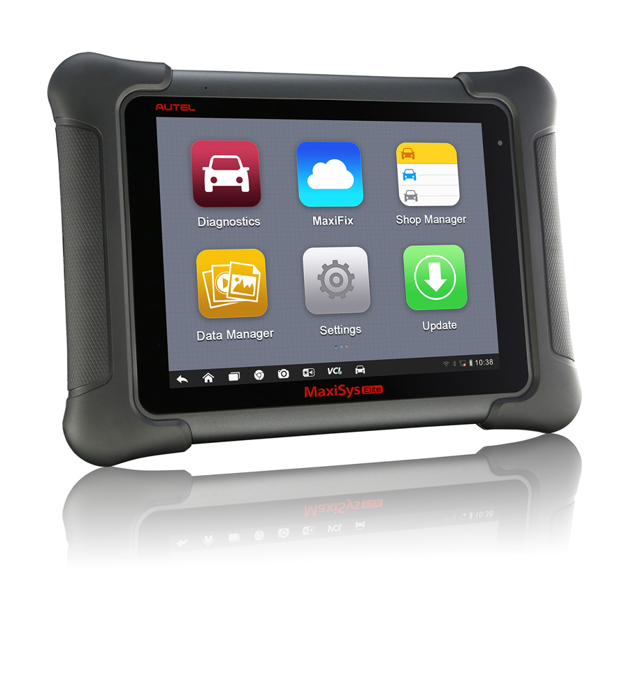 (UK Ship No Tax)Autel MaxiSys Elite WiFi/Bluetooth Tablet Diagnostic Tool with J2534 ECU Preprogramming Box Update Online-1