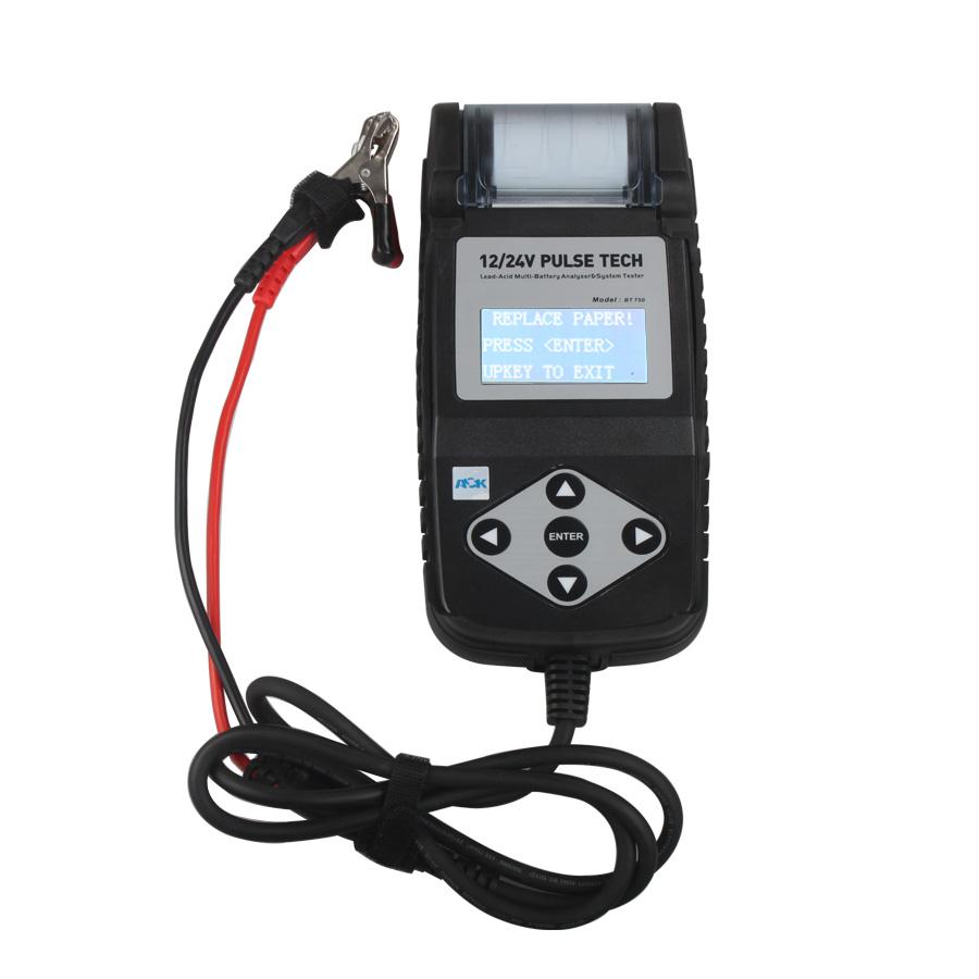 Automotive Battery Testers : Bt battery tester v automotive analyzer