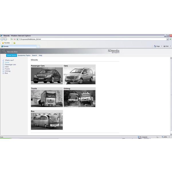 2013 9 latest c3 c4 software mercedes benz star c3 c4 das for Mercedes benz software