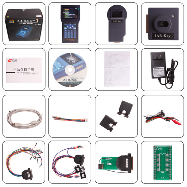 YANHUA CKM200 BMW and Benz Car Key Master Handset with Unlimited Tokens