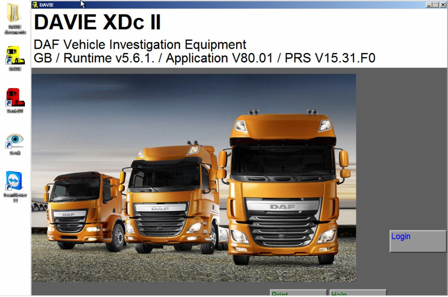 davie xdc ii software