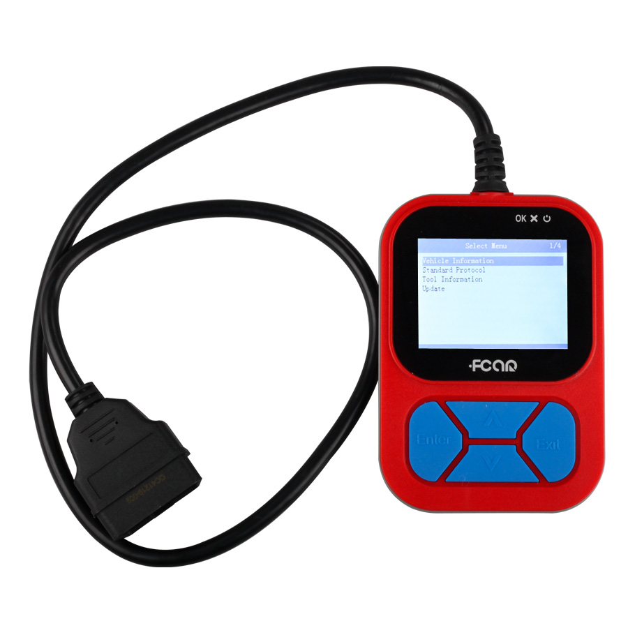 Fcar F502 HD Hand-held Heavy Duty Truck Code Reader Update Online