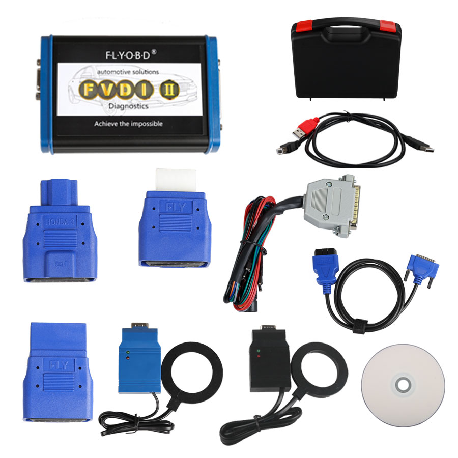 FVDI 2 II VAG Commander For VW, Audi, Seat, Skoda V24.0 Software