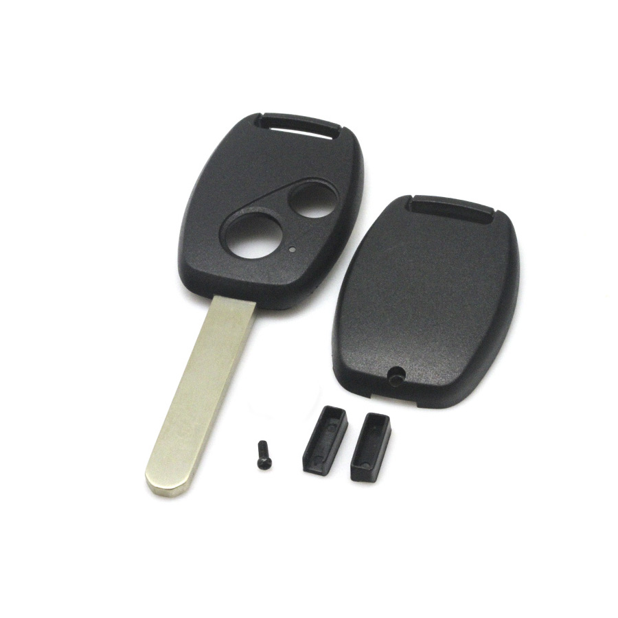 Honda remote key shell 2 button(without Logo and paper sticker)