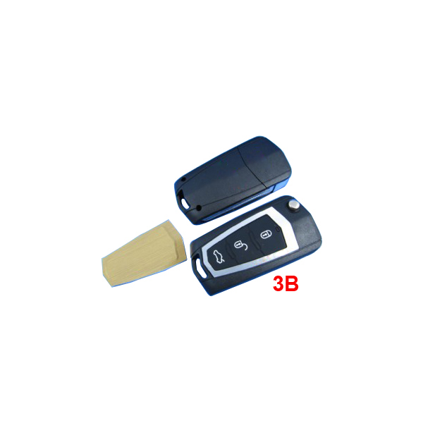 Modified Remote Flip Key Shell for Hyundai Sonta 10pcs/lot