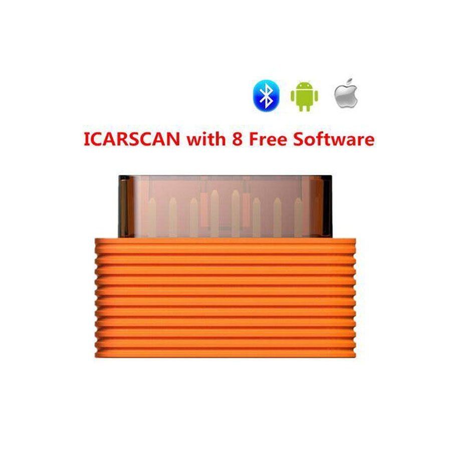 Launch X431 iCarscan Android iOS Full System Diagnostic Tool with 5 Car Software & 3 Specical Function Software