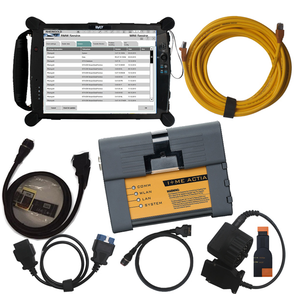 V2017.12 ICOM A2 B C Interface with BMW Rheingold Software Plus EVG7 4GB Diagnostic Controller Tablet PC