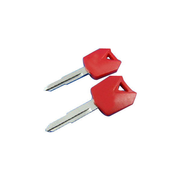 Key Shell (Red Color) for Kawasaki Motorcycle 5pcs/lot