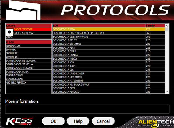 kess v5.017 protocols