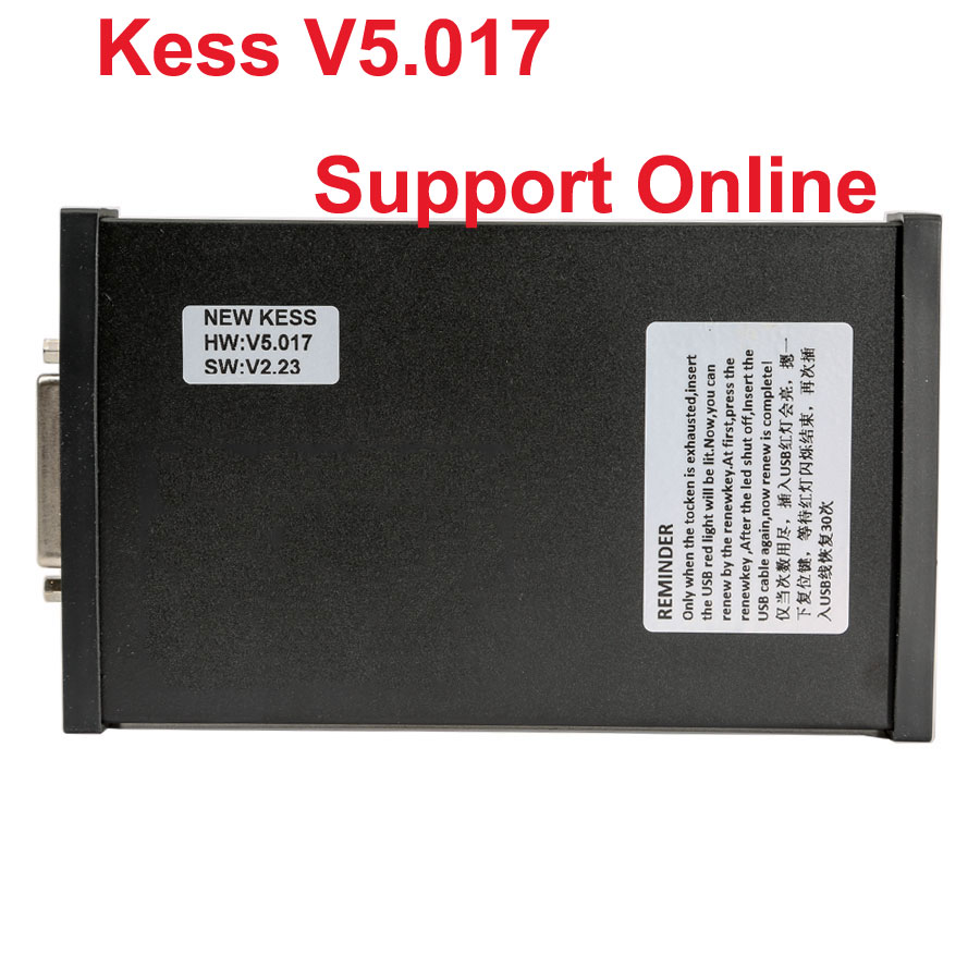 (UK Shipping No Tax)2018 Newest V2.47 KESS V2 Firmware V5.017 Fully Activated for Car Bike Truck Tractor ECU Programming No Tokens Limitation
