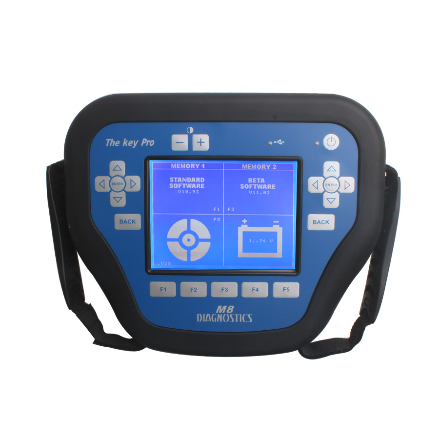 The Key Pro M8 Auto Key Programmer Tool with 800 Tokens Most Powerful Locksmith Diagnostic Tool