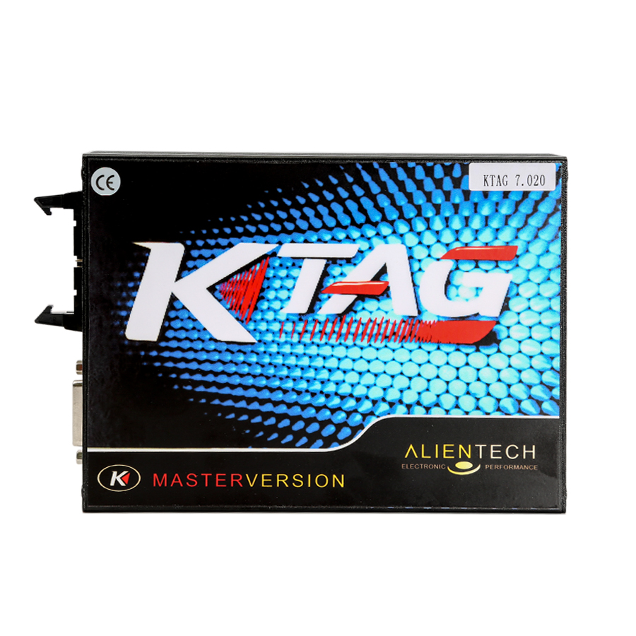 (UK Shipping No Tax)Ktag SW 2.23 FW V7.020 Car Truck Tract Boat Master ECU Programmer No Tokens Need with ECM TITANIUM V1.61-0