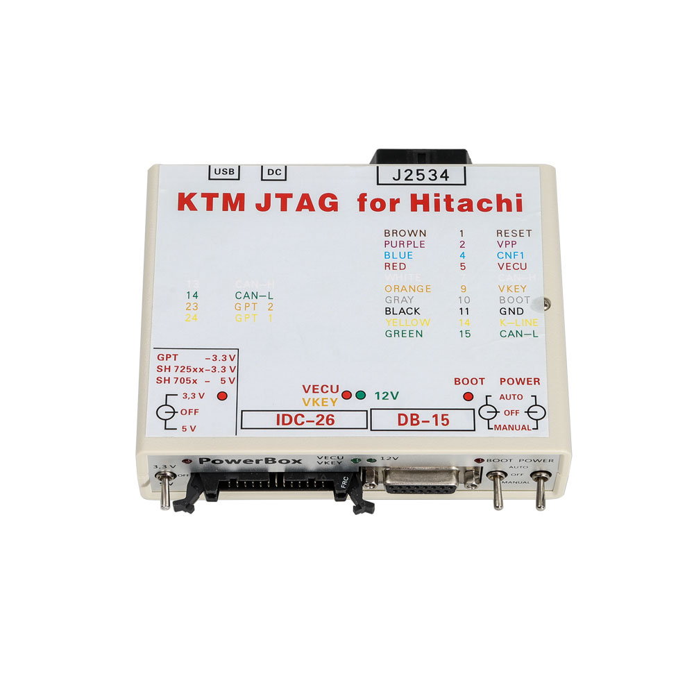 (10th Anni Sales)KTM FLASH KTMflash ECU Programmer & Gearbox Power Upgrade  Tool with PowerBox Support 271 MSV80 MSV90