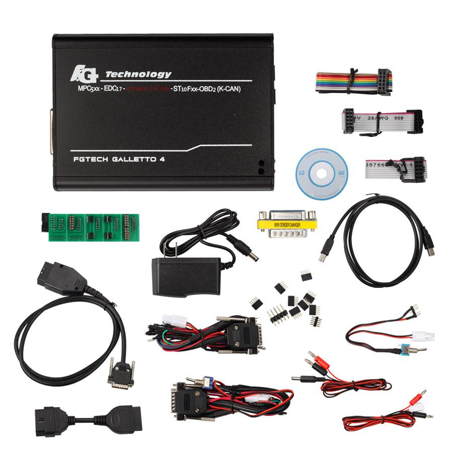 (UK Shipping No Tax)V54 FGTech Galletto 4 Master BDM Function For Car & Truck Unlock Version