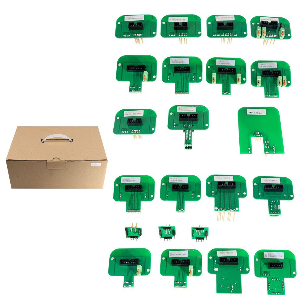 Best Price LED BDM Frame 22 Sets of Adapters for KTAG KESS KTM Dimsport ECU Programmer