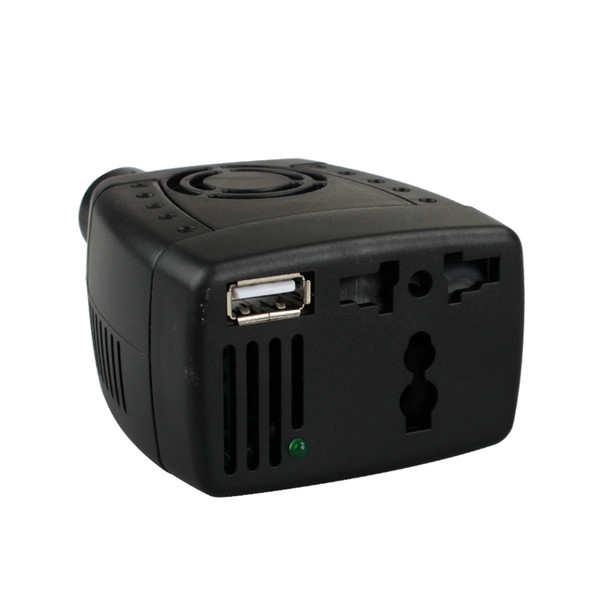 150W Automotive USB Inverter DC 12V to AC 110V
