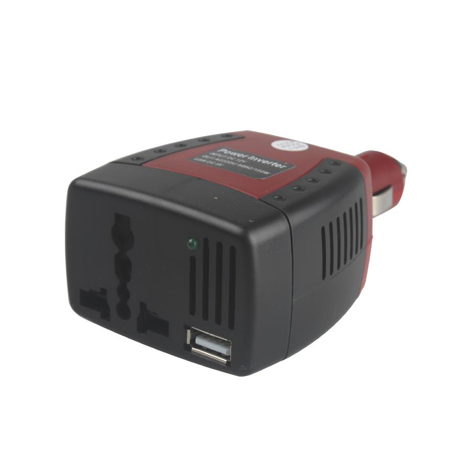150W Automotive USB Interver DC 12V to AC 220V