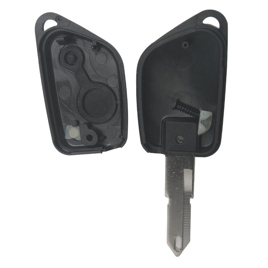 Remote Key Shell 2 Button for Peugeot 206 5pcs/lot
