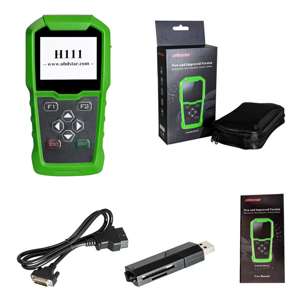 OBDSTAR H111 Opel IMMO Key Programmer & Cluster Calibration Tool