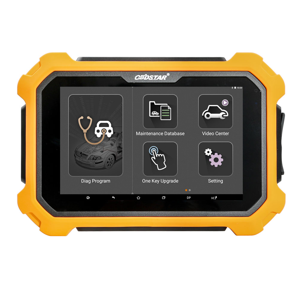 OBDSTAR X300 DP Plus PAD 2 Tablet Key Programmer C Package Full Version Supports ECU Programming & Toyota Smart Key