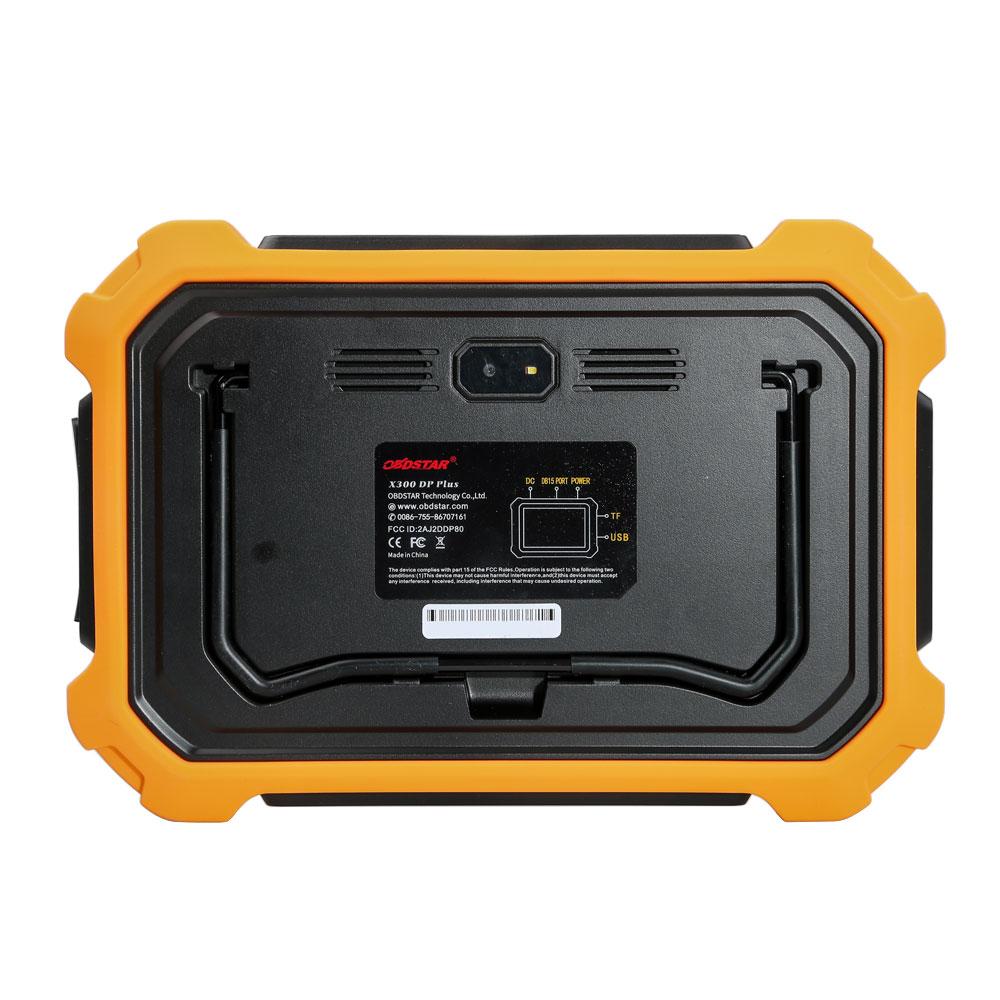 OBDSTAR X300 DP Plus PAD 2 Tablet Key Programmer C Package Full Version Supports ECU Programming & Toyota Smart Key-1