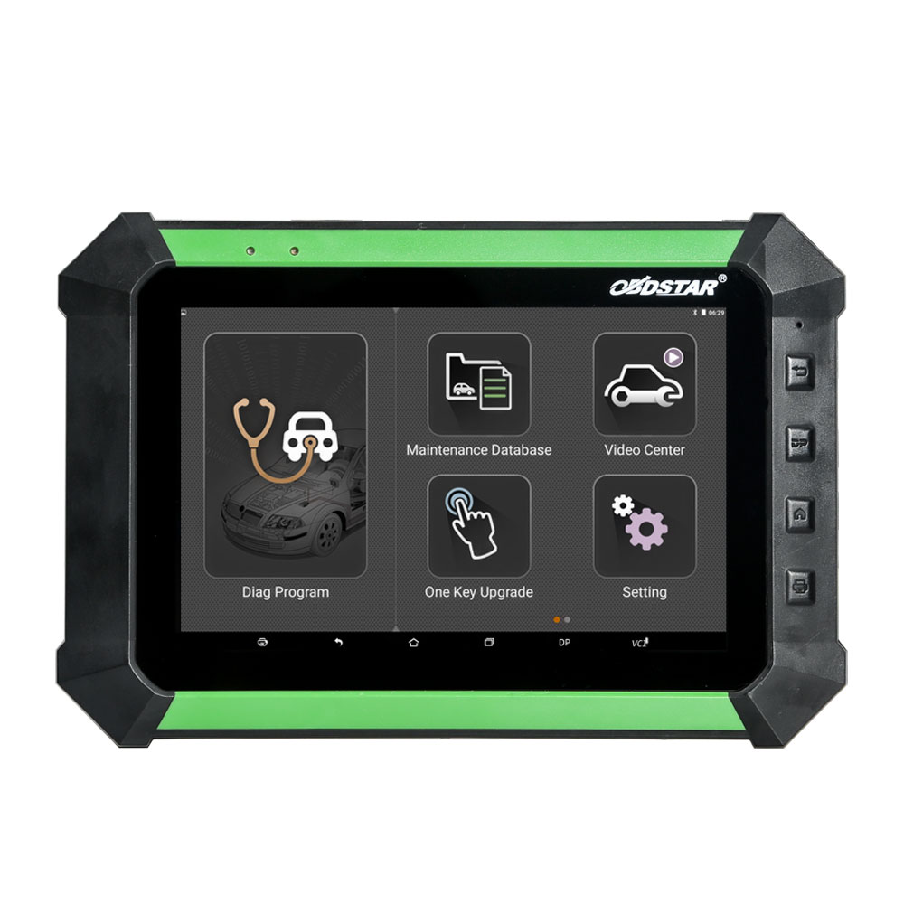 (UK Ship No Tax) OBDSTAR X300 DP PAD Android Tablet Key Programmer Full Package Support Toyota G & H Chip All Key Lost