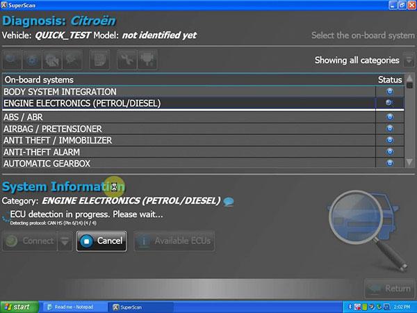 Professional Peugeot/citroen Diagnostic Software Download