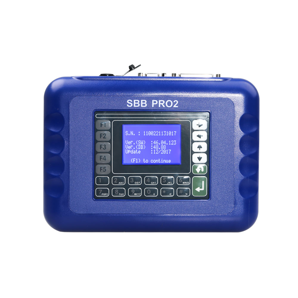 New Update V48.88 SBB PRO2 Key Programmer Supports New Cars to 2017.12 No Tokens Limitation