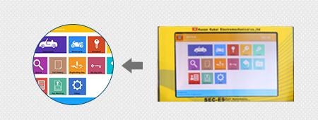 sec-e9 screen