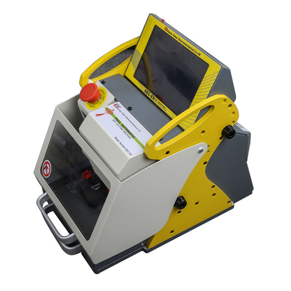 Buy V16.0.0.3 SEC-E9 Automated Key Cutting Machine Get Free Tibbe FO21 Ford/JaguarClamp Free Shipping by DHL-1