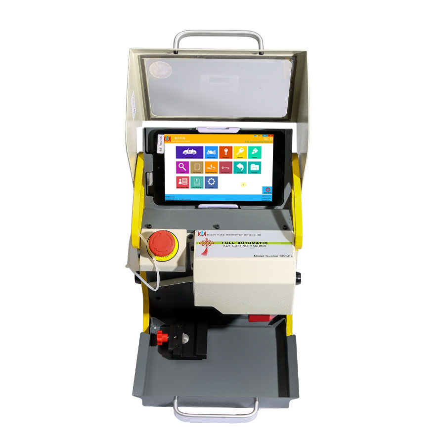 Buy V16.0.0.3 SEC-E9 Automated Key Cutting Machine Get Free Tibbe FO21 Ford/JaguarClamp Free Shipping by DHL-2