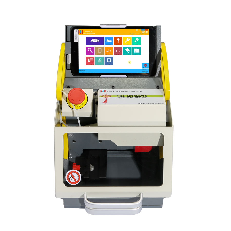 Buy V16.0.0.3 SEC-E9 Automated Key Cutting Machine Get Free Tibbe FO21 Ford/JaguarClamp Free Shipping by DHL-4