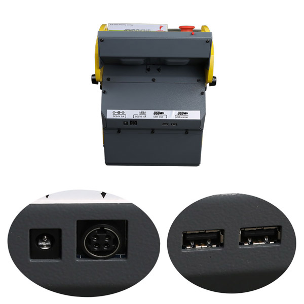 Buy SEC-E9 CNC Automated Key Cutting Machine Get Free Tibbe FO21 Ford/JaguarClamp Free Shipping by DHL-5